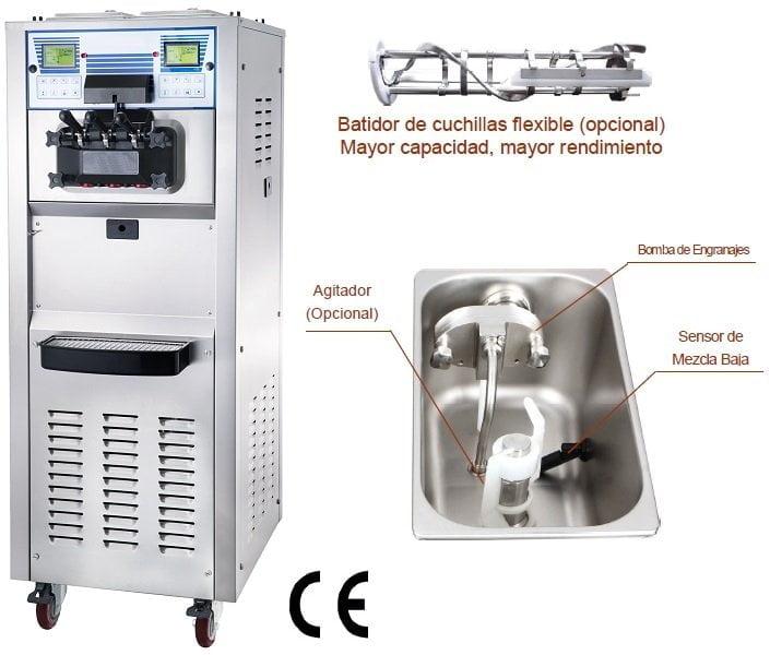 Maquina helado soft