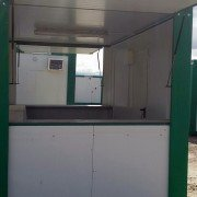 Caseta bar o kiosko 4 x 2,4 metros
