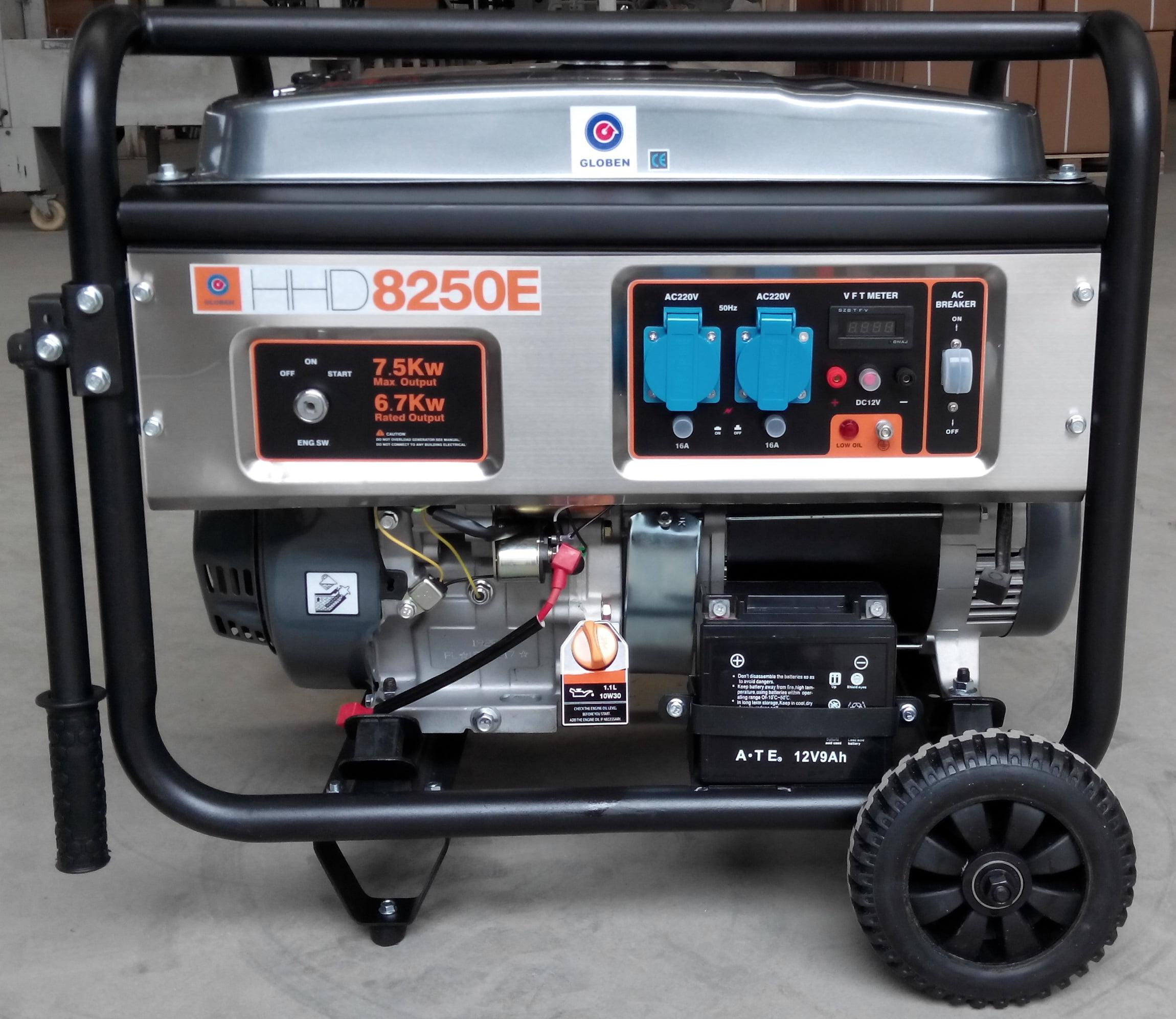 Generador gasolina HHD8250E