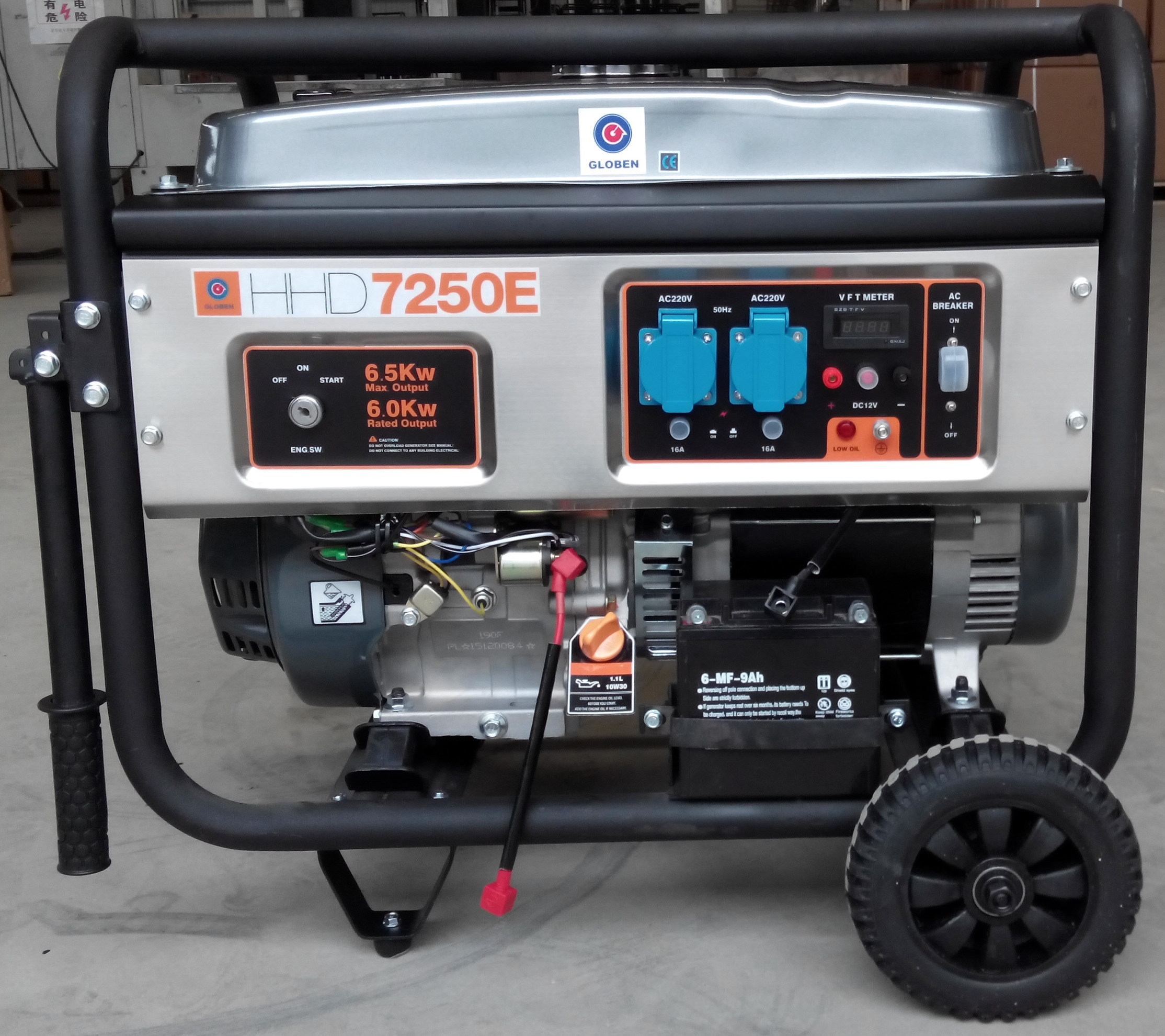 Generador gasolina HHD7250E