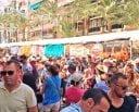 Las Hogueras en calle Alfonso Sabio de Alicante
