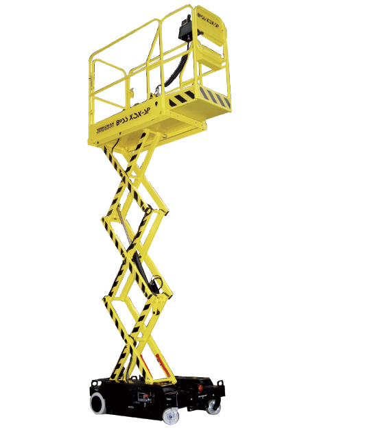 Plataforma tijera eléctrica Modelo BoSS X3X-SP Altura de trabajo 5,14m