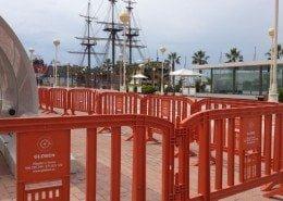 Vallas en eventos Puerto Alicante 2013