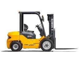 Capacidad de carga 1500kg (Samuk FB15-SJZ) Carretilla Elevadora Eléctrica