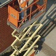 Plataforma tijera eléctrica Modelo JLG 2033E3 Altura de trabajo de 8m (2)