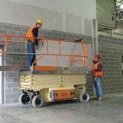 Plataforma tijera eléctrica Modelo JLG 3246ES Altura de trabajo 12m (1)