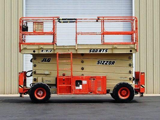 Modelo JLG 500RTS Altura de trabajo 17m
