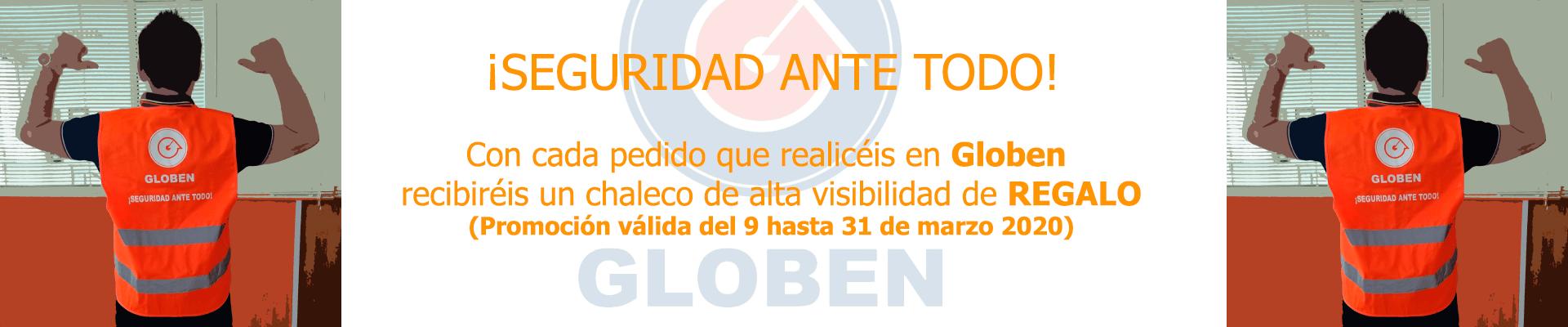PROMOCION CHALECO DE GLOBEN
