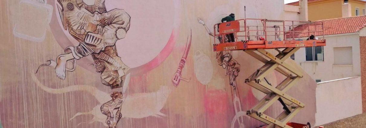 Pintura mural de Petrer_1