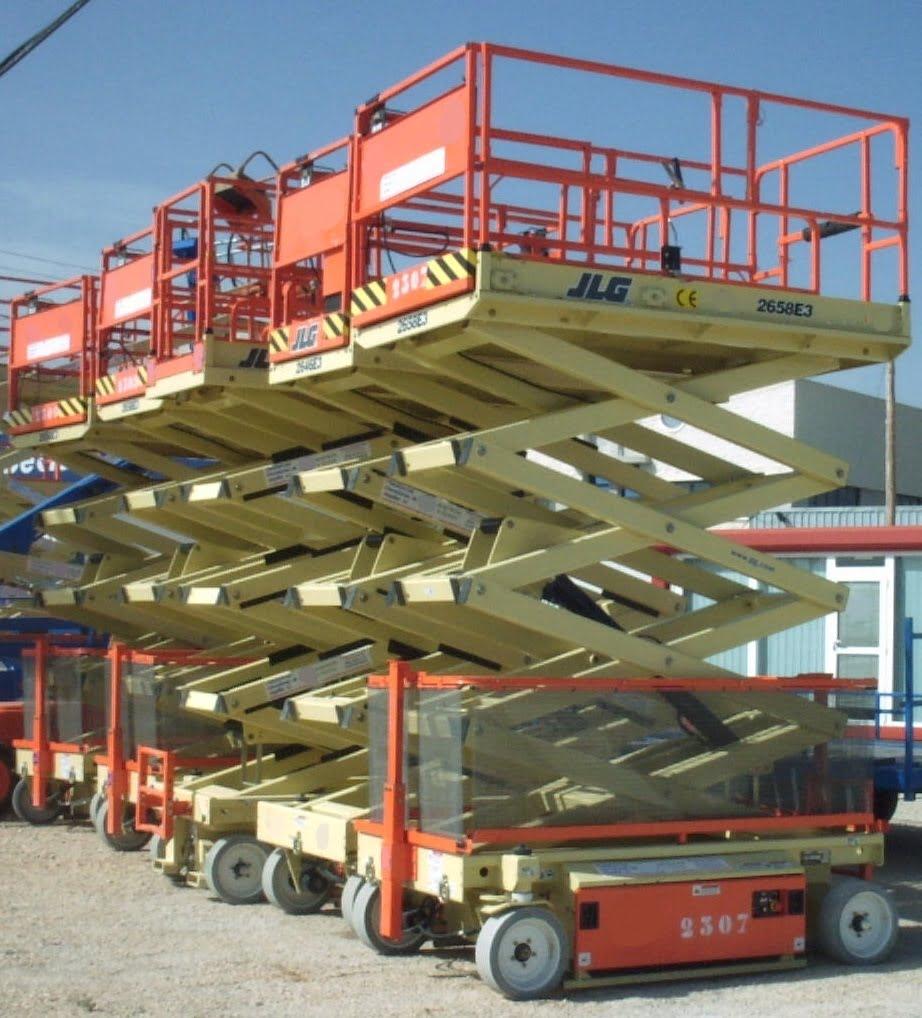 Plataforma tijera eléctrica 2658e3
