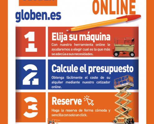 Presupuesto online Globen